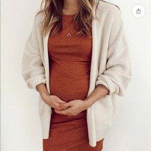 Urban Outfitters colie oversize openfront cardigan